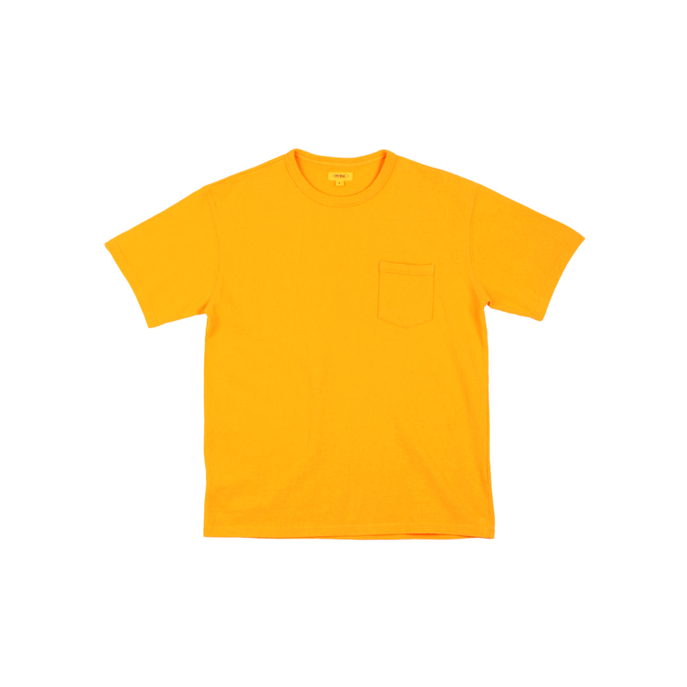 더레스큐(THERESQ)STEVEDORE TEE [YELLOW]