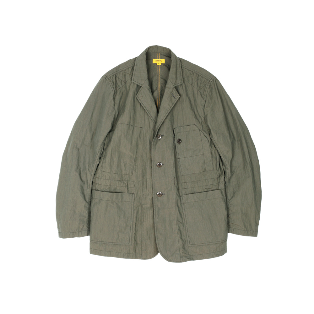 더레스큐(THERESQ)FACTORY COVERALL JACKET [KHAKI]