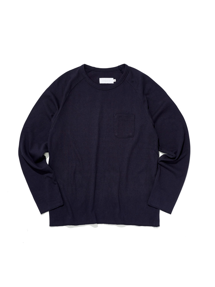 디그레(DGRE)LONG RAGLAN SLEEVE NAVY