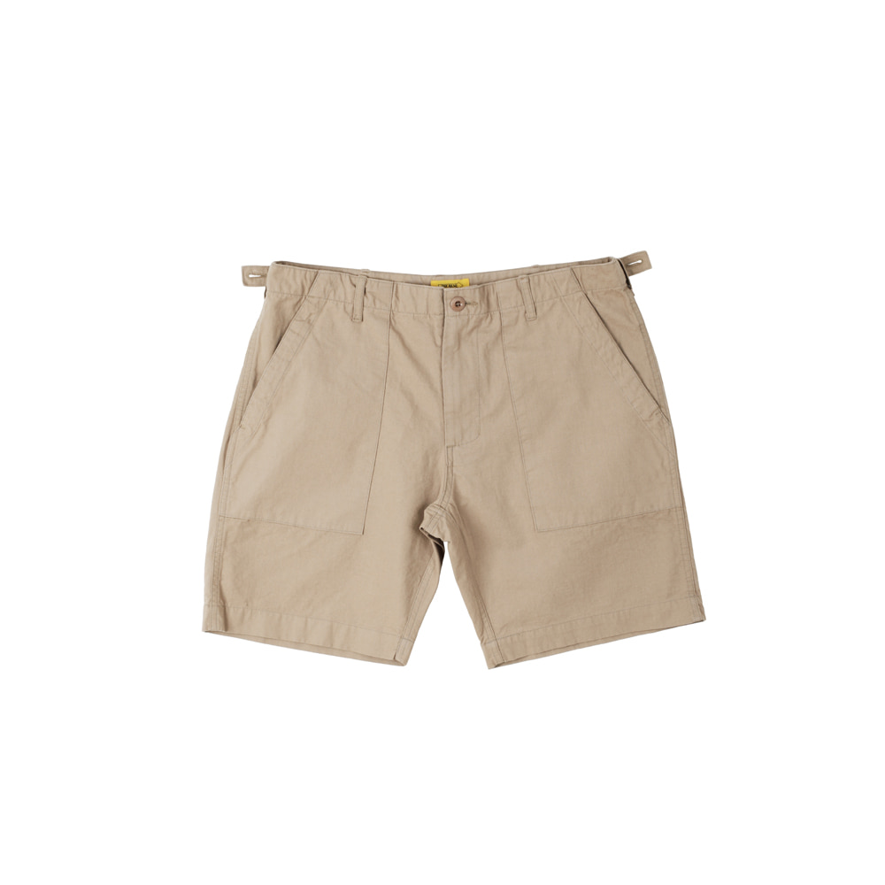 더레스큐(THERESQ) ORGANON SHORTS [BEIGE]