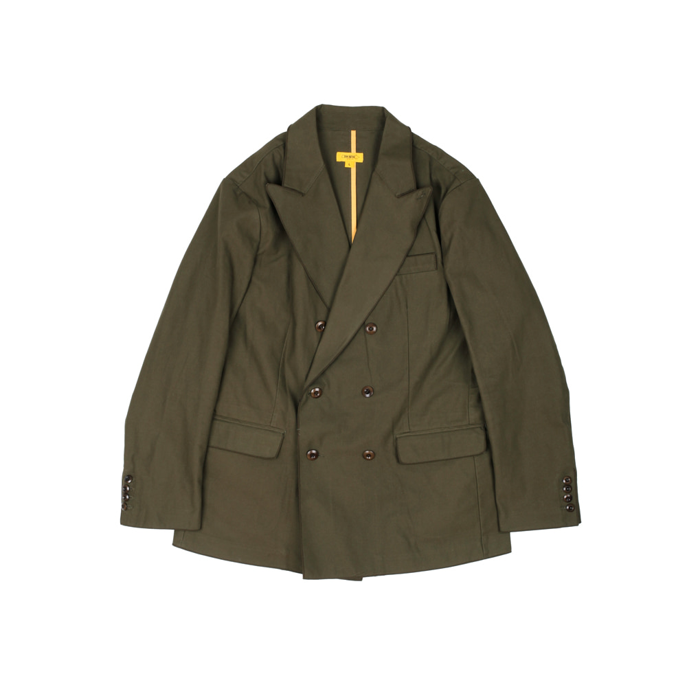 더레스큐(THERESQ)DOUBLE JOHN JACKET [KHAKI]