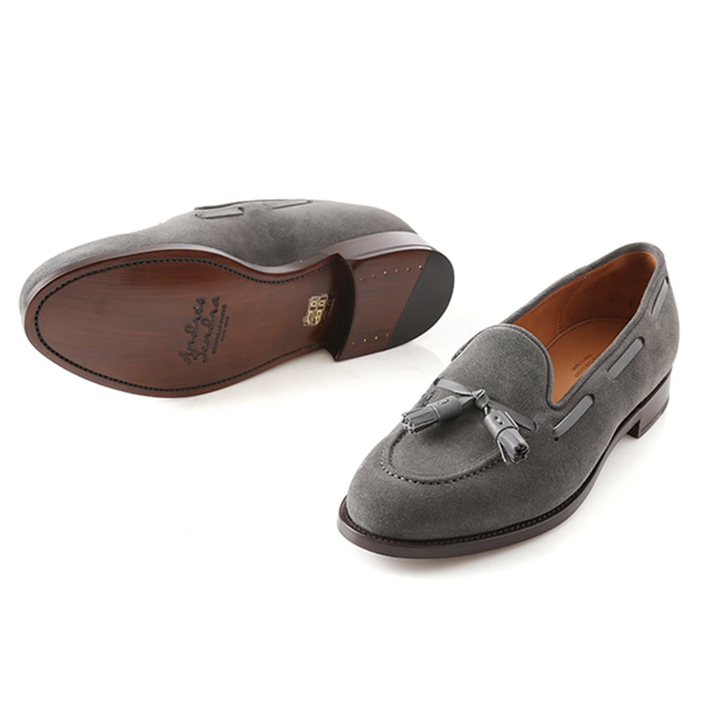 13338 Tassel Loafer Winter SmokeAndresSendra(안드레스샌드라)