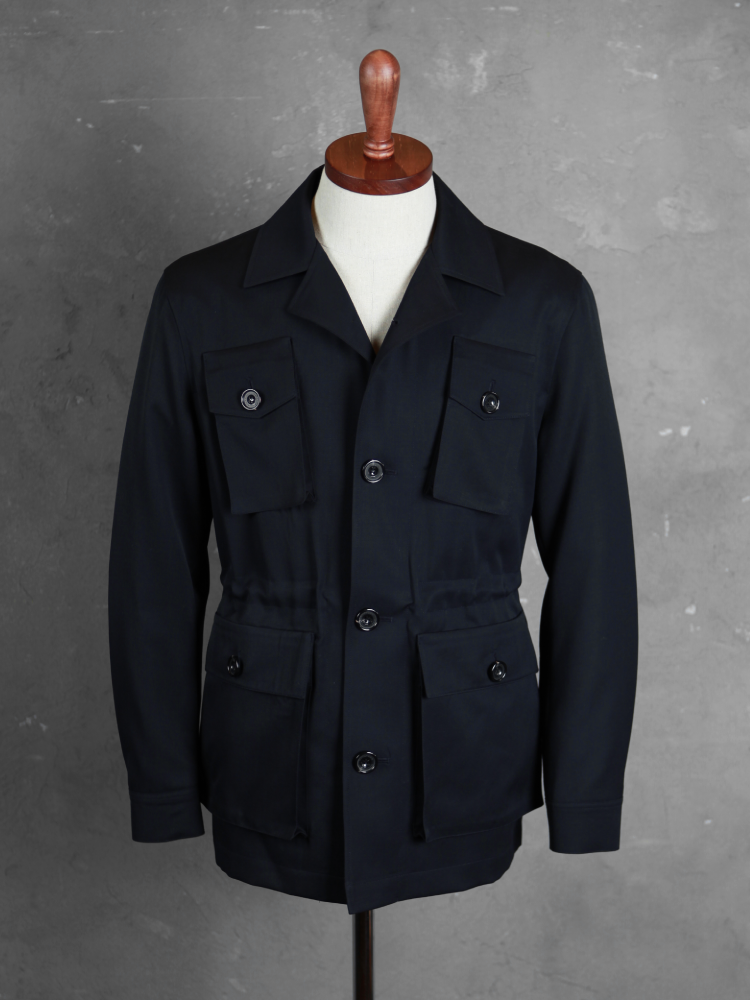 벨보로(BELLVORO)ITALIAN ARMY FIELD JACKET_NAVY