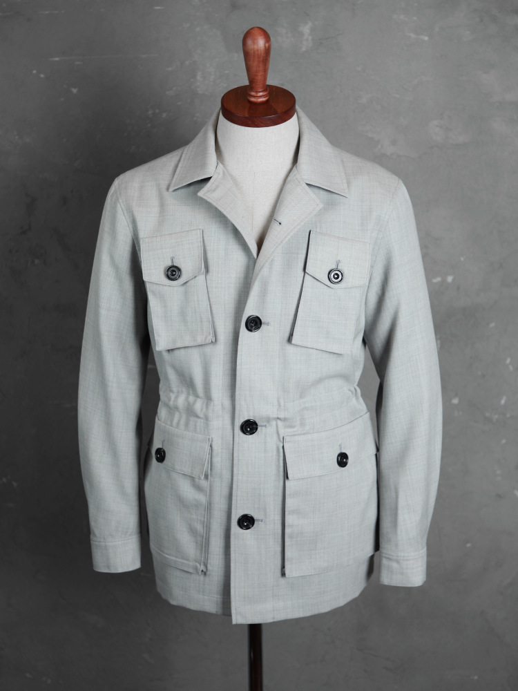 벨보로(BELLVORO)ITALIAN ARMY FIELD JACKET_GRAY