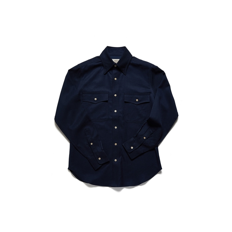 암피스트(AMFEAST)NAVY COMFOR SAFARI SHIRTS