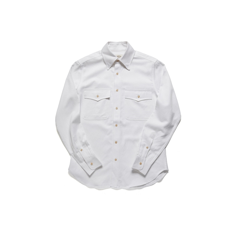 암피스트(AMFEAST)WHITE COMFOR SAFARI SHIRTS