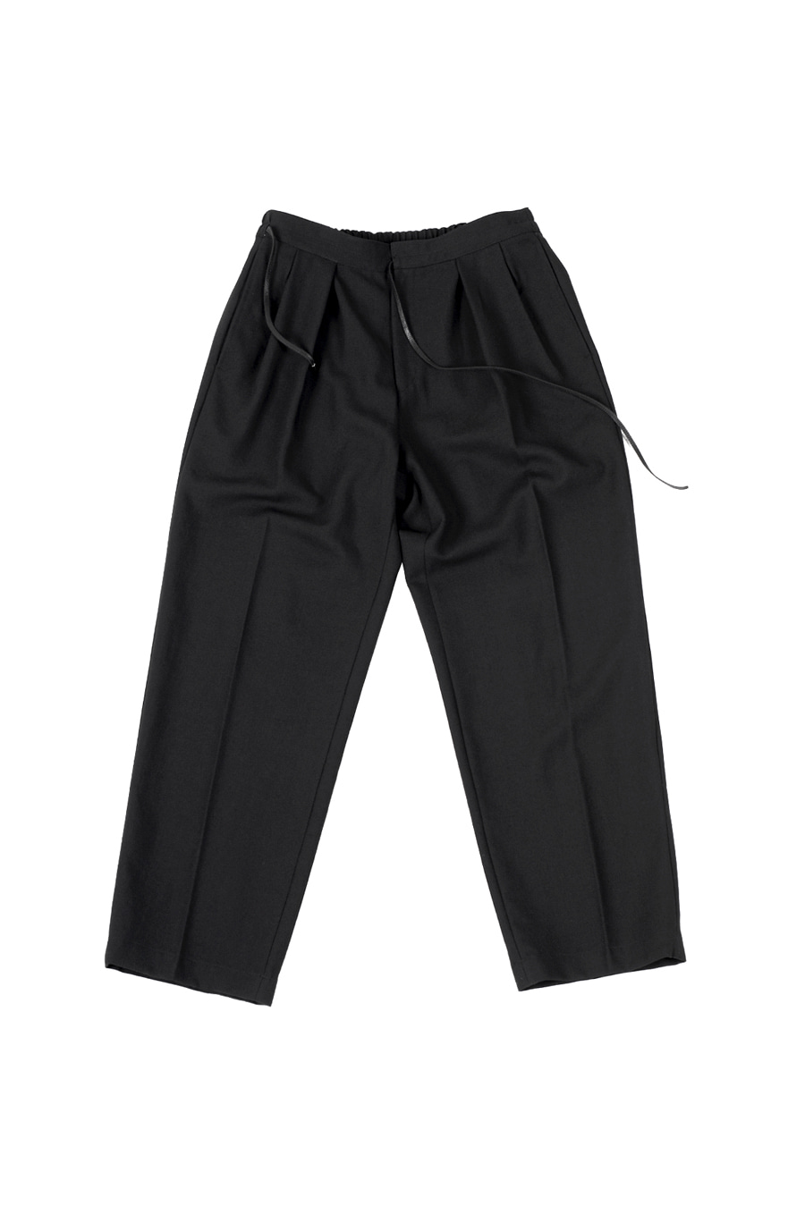 아티튜드(ARTTITUDE)Summer Wool Hakama Pants / Black
