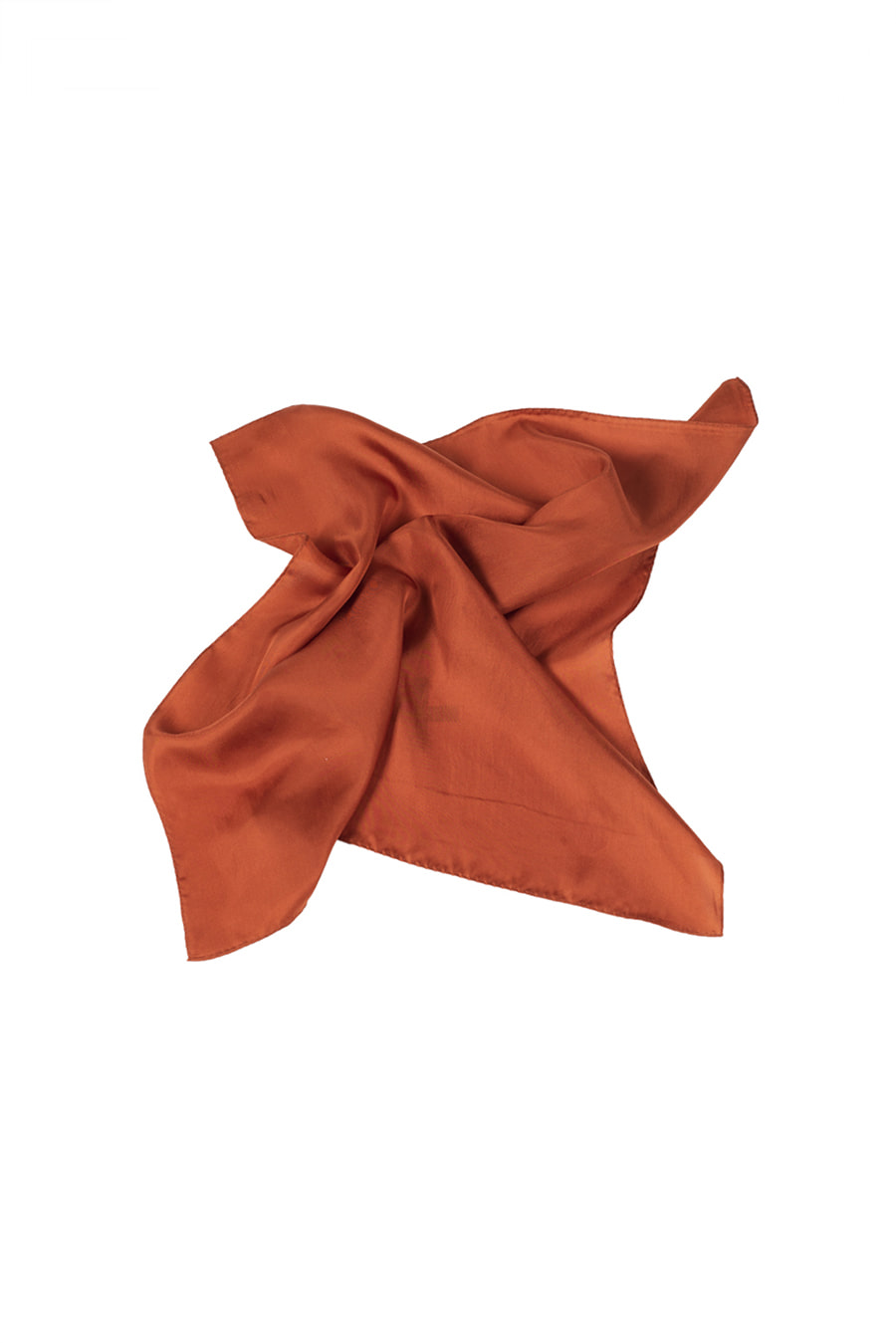 아티튜드(ARTTITUDE)Silk Bandana / Orange