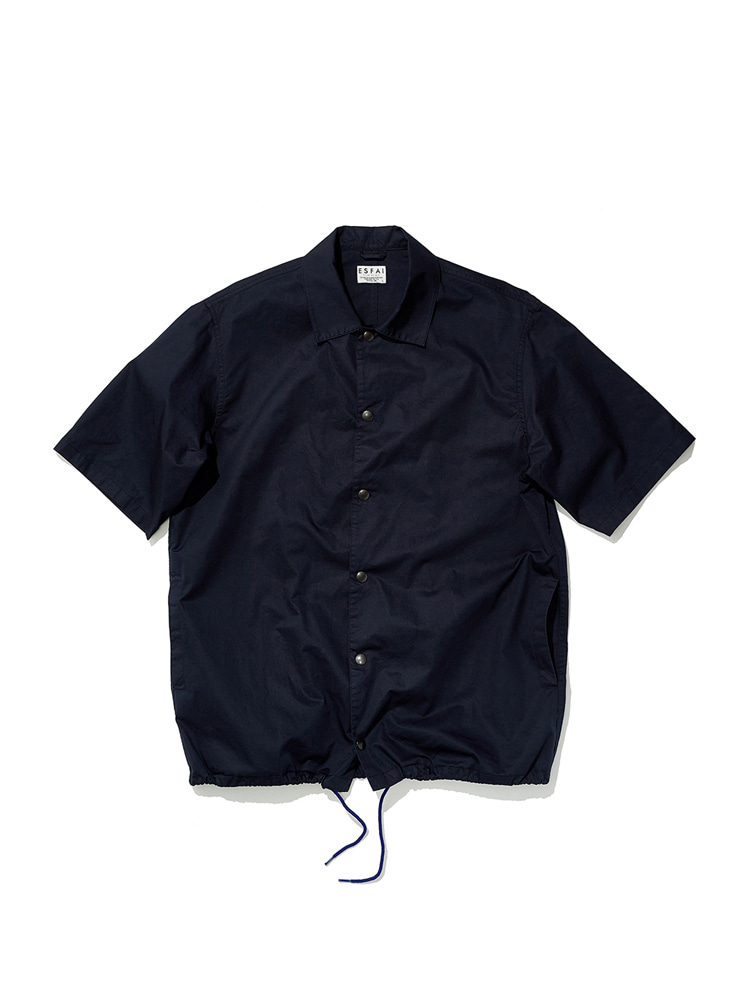 Half Sleeve Coach Shirt (Navy)ESFAI(에스파이)