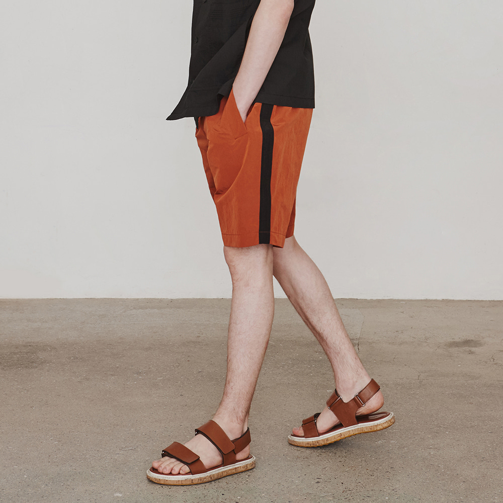 Nylonical Shorts (Orange&Black)에스파이(ESFAI)