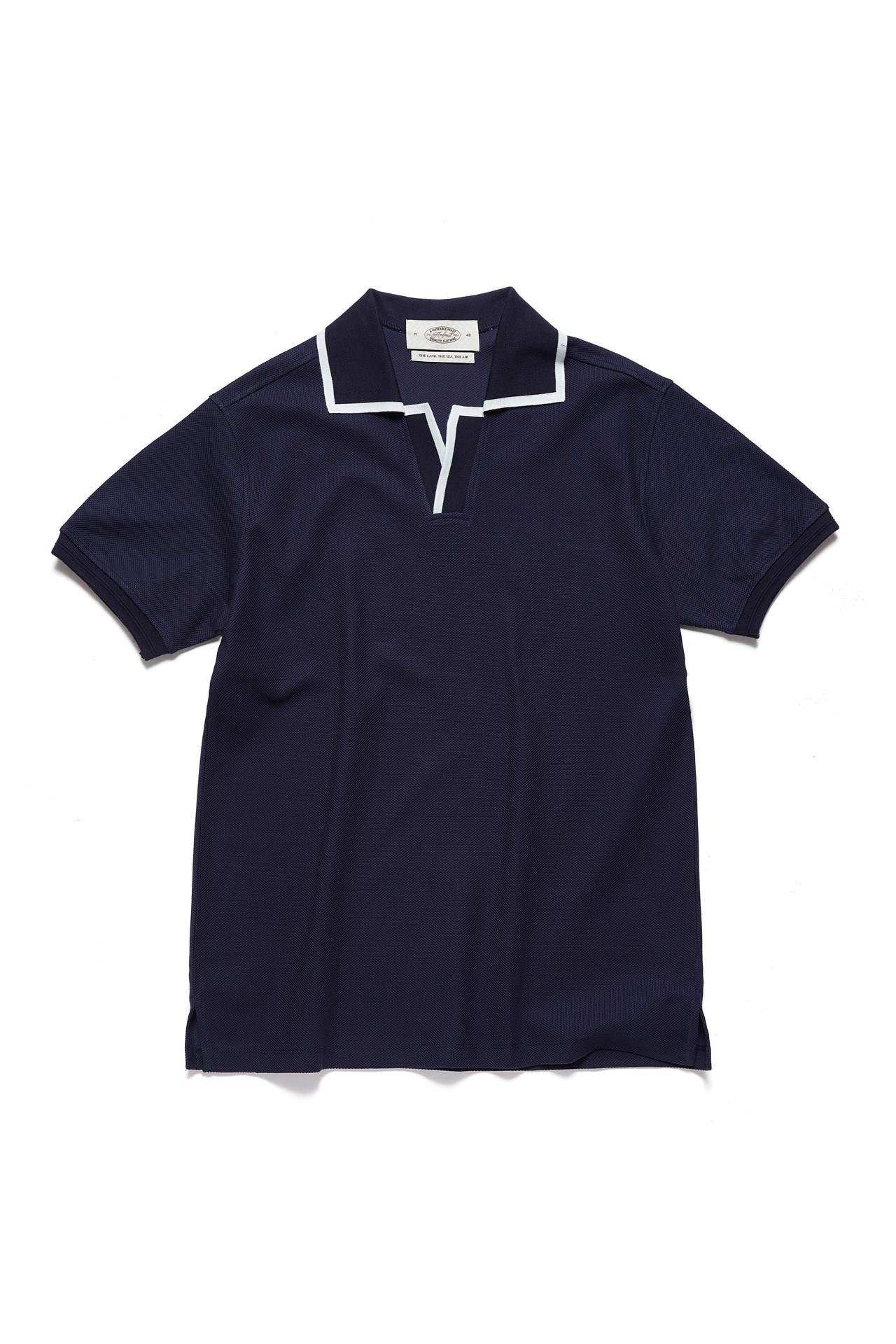NAVY LINE POLO SHIRTSAmfeast(암피스트)