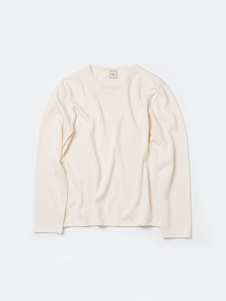 Long sleeve roll-neck_IvoryVERNO(베르노)