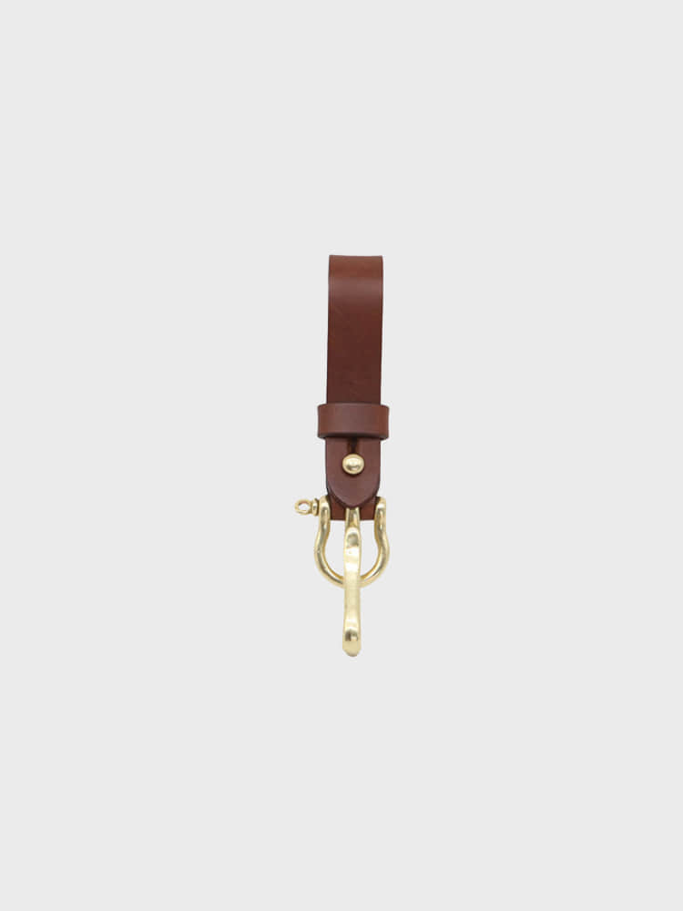 Multi Key-ring Lanyard (Dark brown)BRASS BOATS(브라스보트)