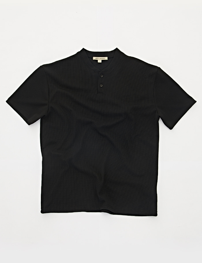 HENRY NECK 2bt T-shirt  blackORTUS VASTERDS(올투스 바스터즈)