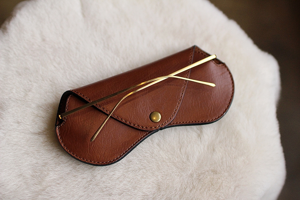 eyewear case brownTstarT(티스타티)L size