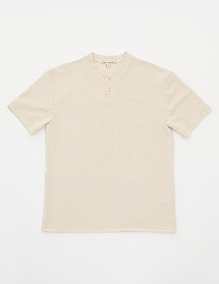 HENRY NECK 2bt T-shirt  sand ORTUS VASTERDS(올투스 바스터즈)