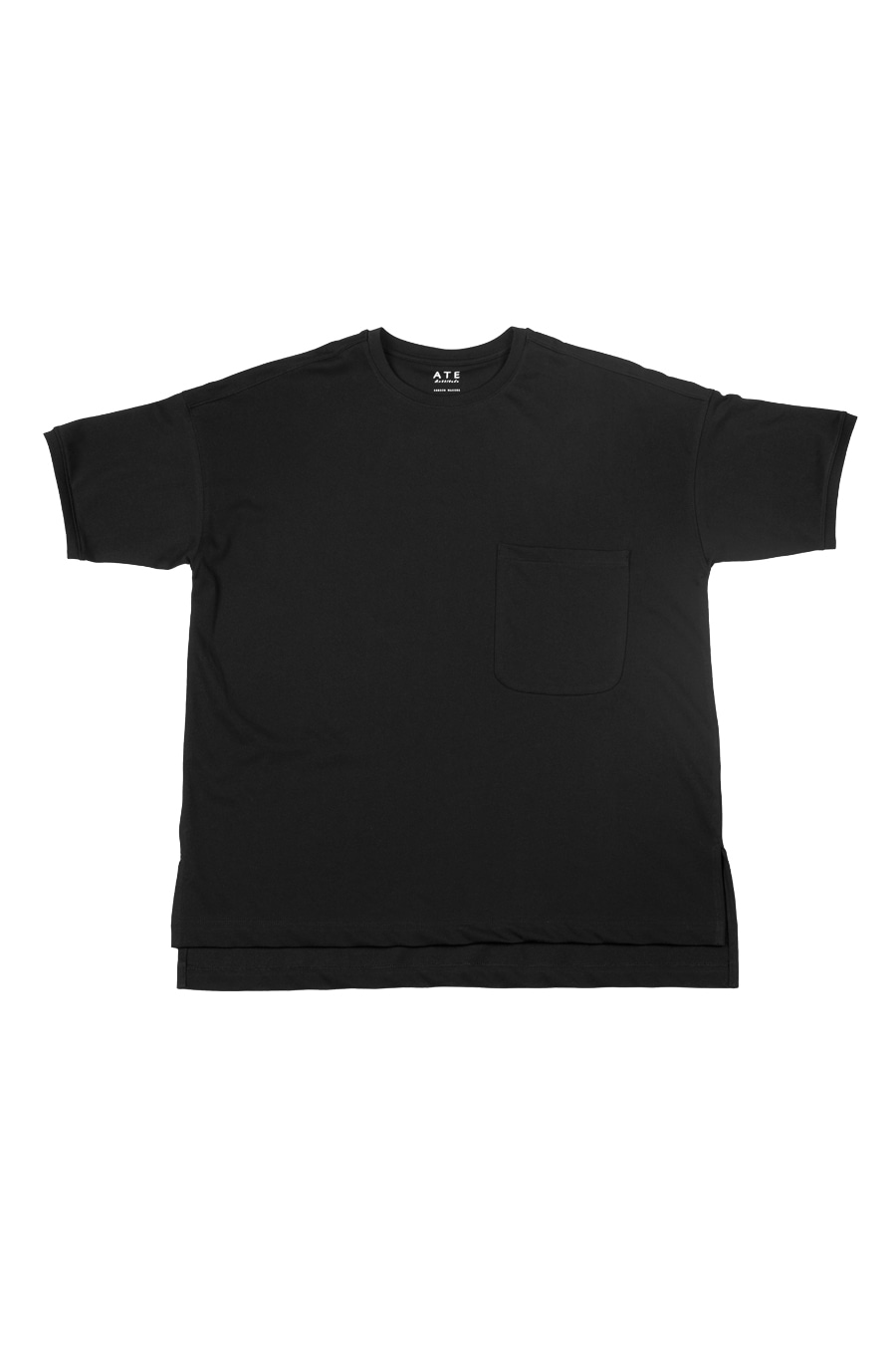 Sleek-Slack Half Tee / BlackArttitude(아티튜드)