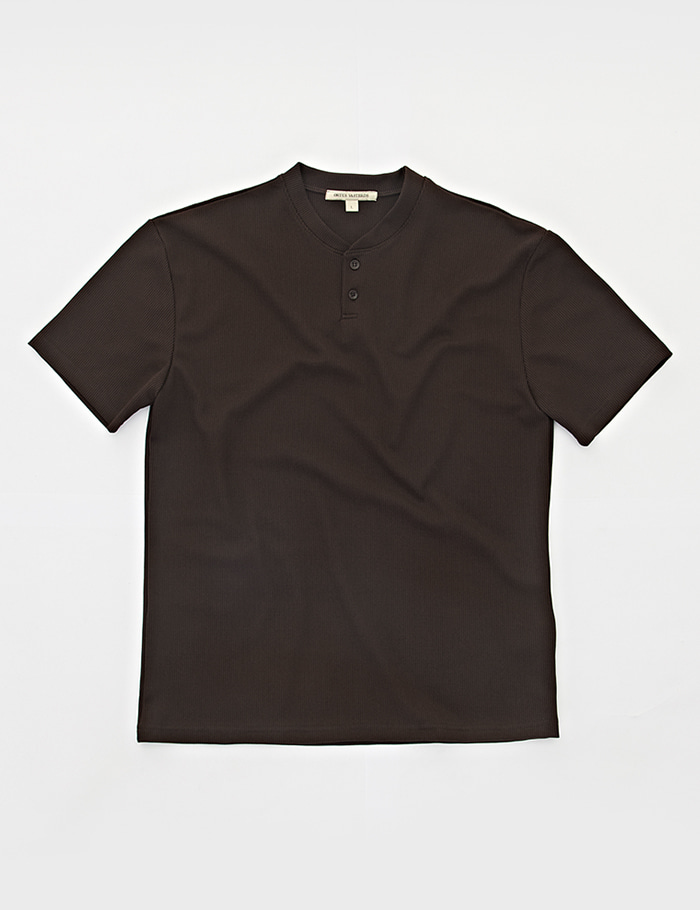 HENRY NECK 2bt T-shirt  brown ORTUS VASTERDS(올투스 바스터즈)