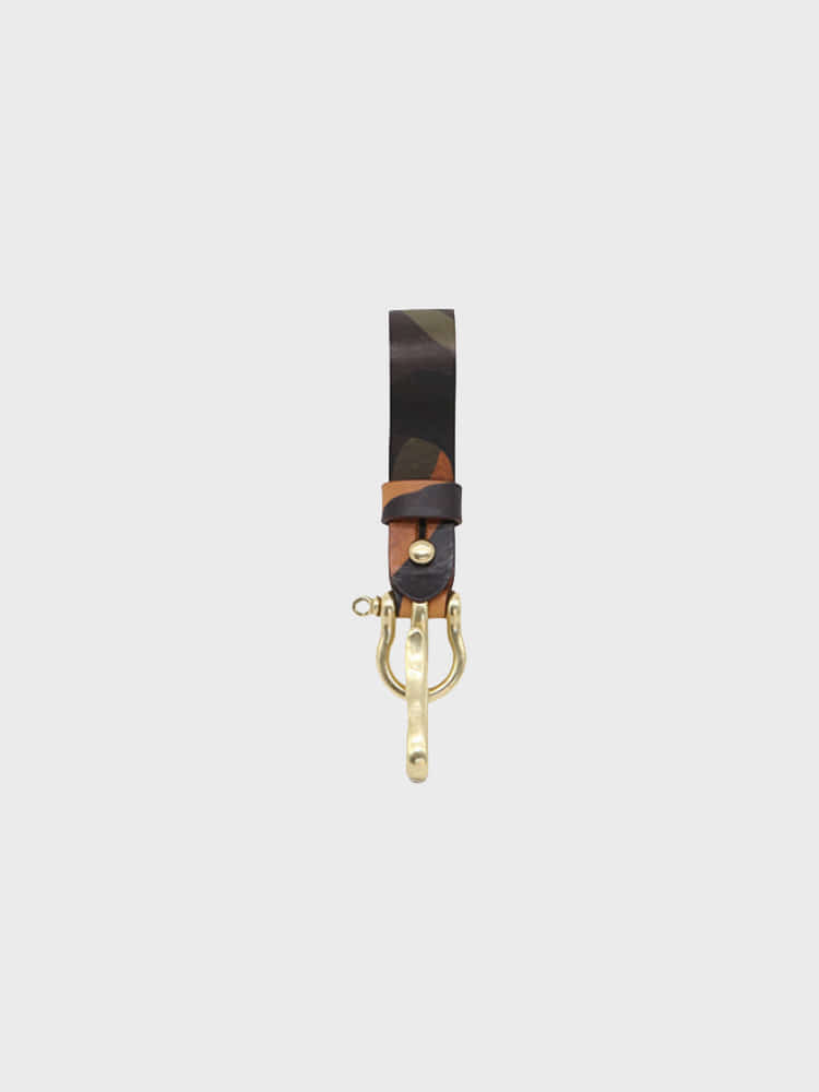 Multi Key-ring Lanyard (Cuoio Camo)BRASS BOATS(브라스보트)