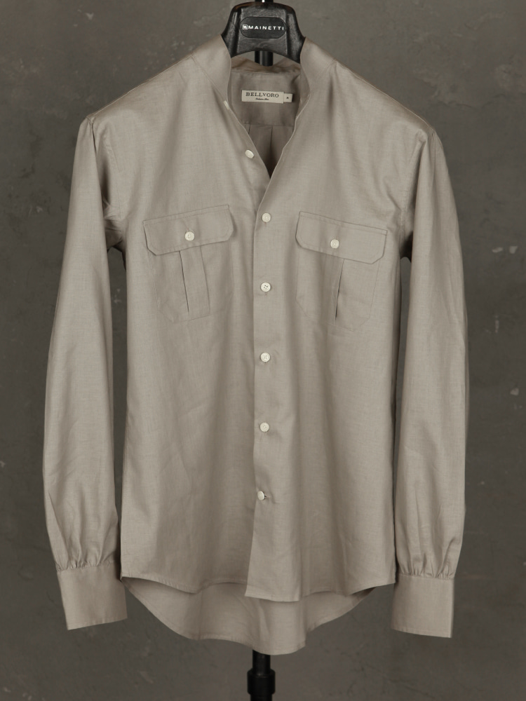 Linen/Cotton Safari Shirts - BeigeBELLVORO(벨보로)