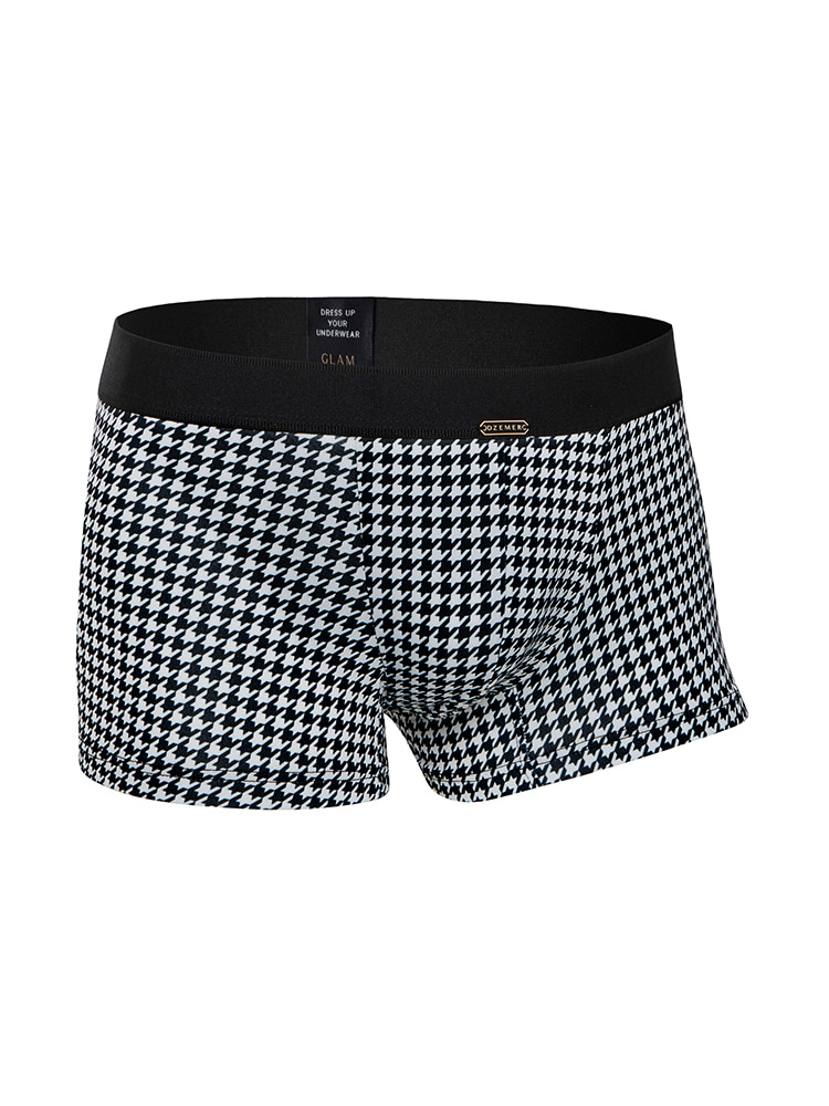 HOUNDTOOTH BOXER BRIEFS blackDZEMER(드제메르)