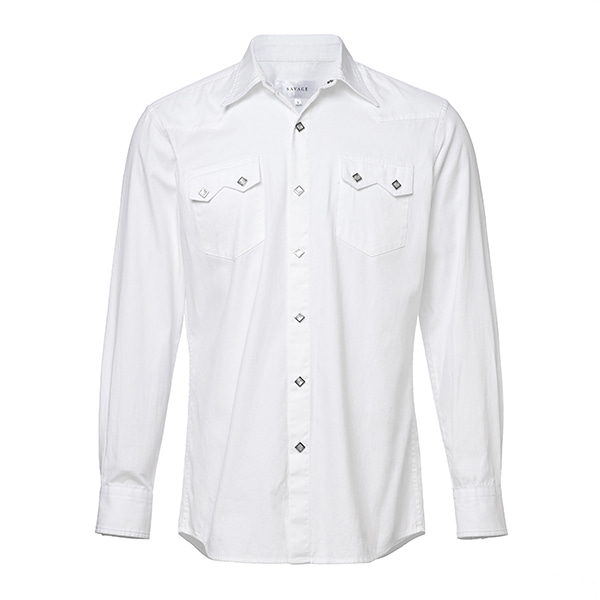 White Oxford Western Shirts SAVAGE(세비지)