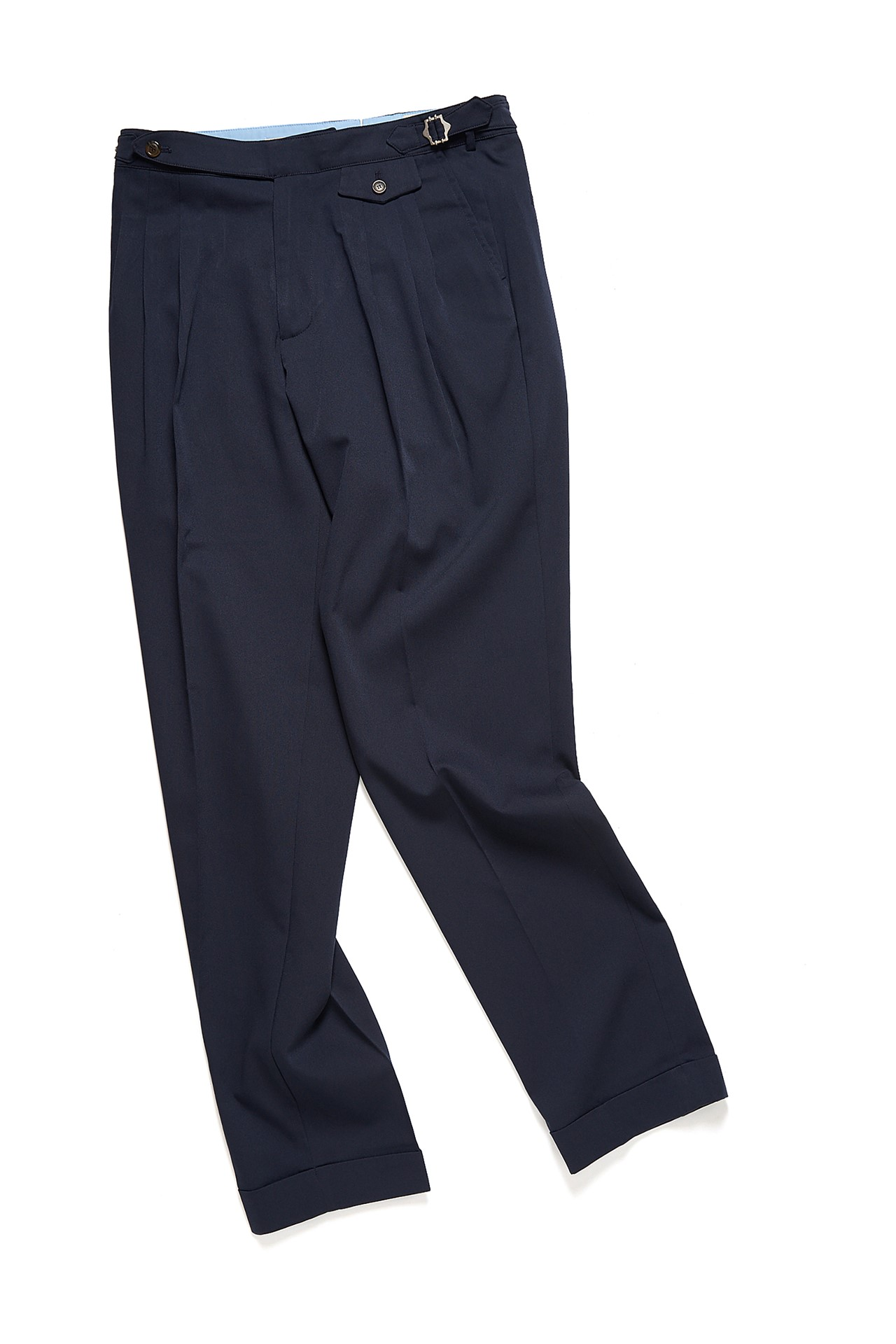 NAVY TR 3 PLEATS PANTSAmfeast(암피스트)