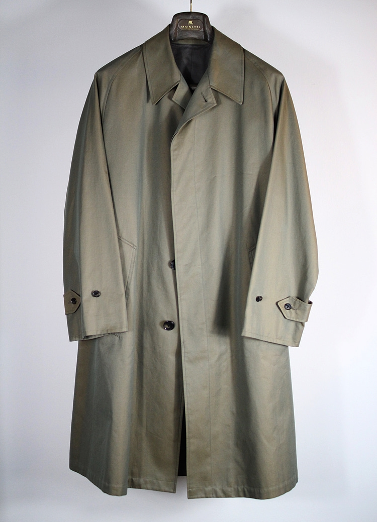 Solaro single trench coat  'IL SOLE'TANNERY(테너리)