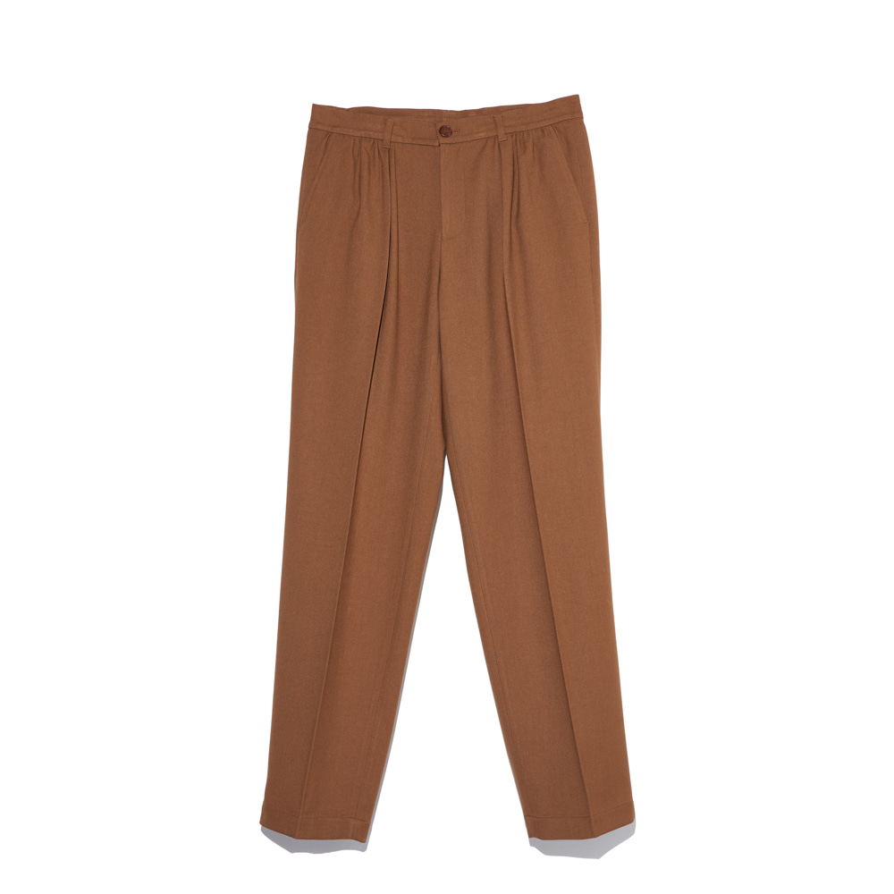 Shirring Pants brownCHAD PROM(채드프롬)