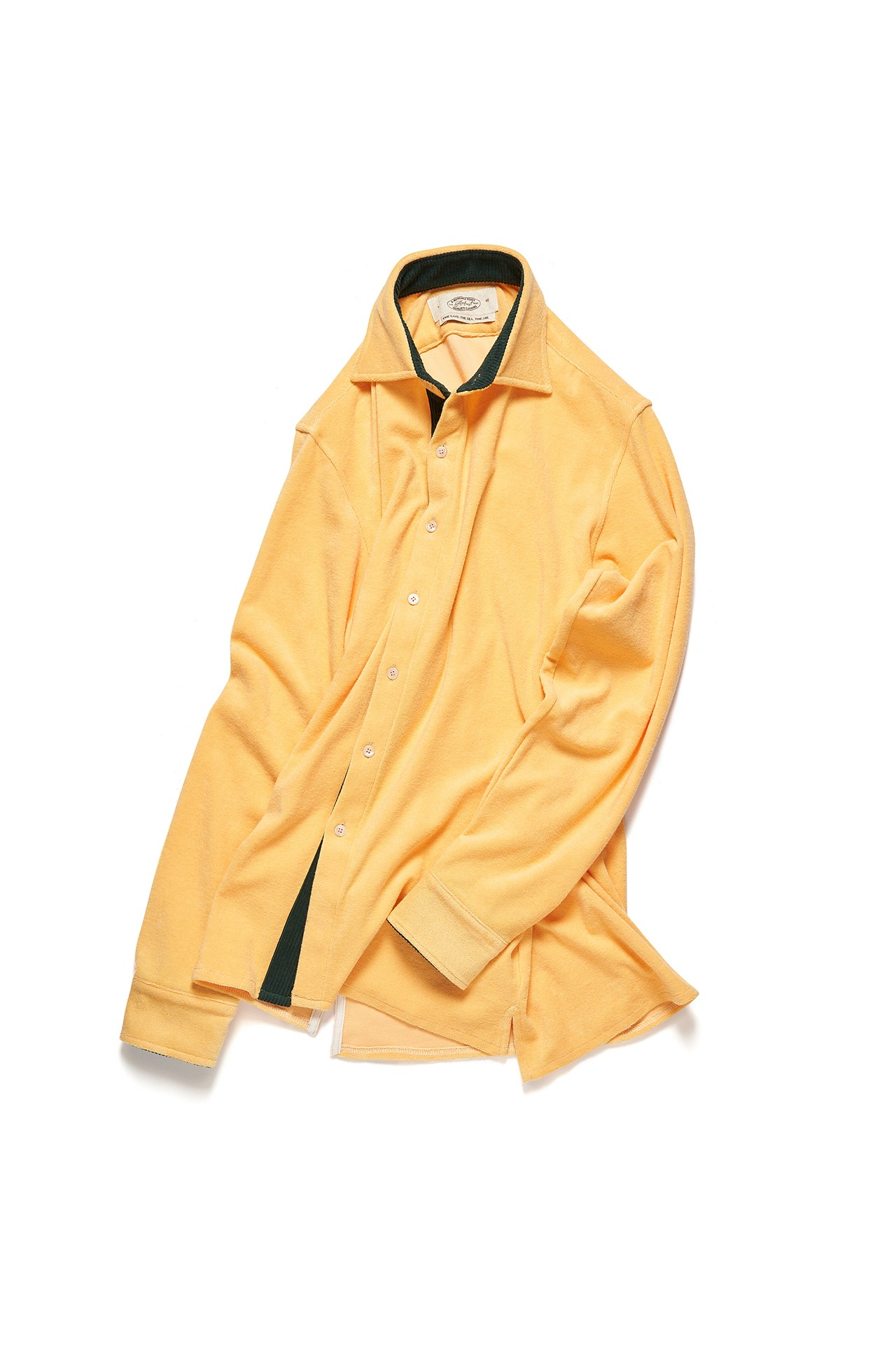 HOLIDAY TERRY COTTON SHIRT_YELLOWAmfeast(암피스트)