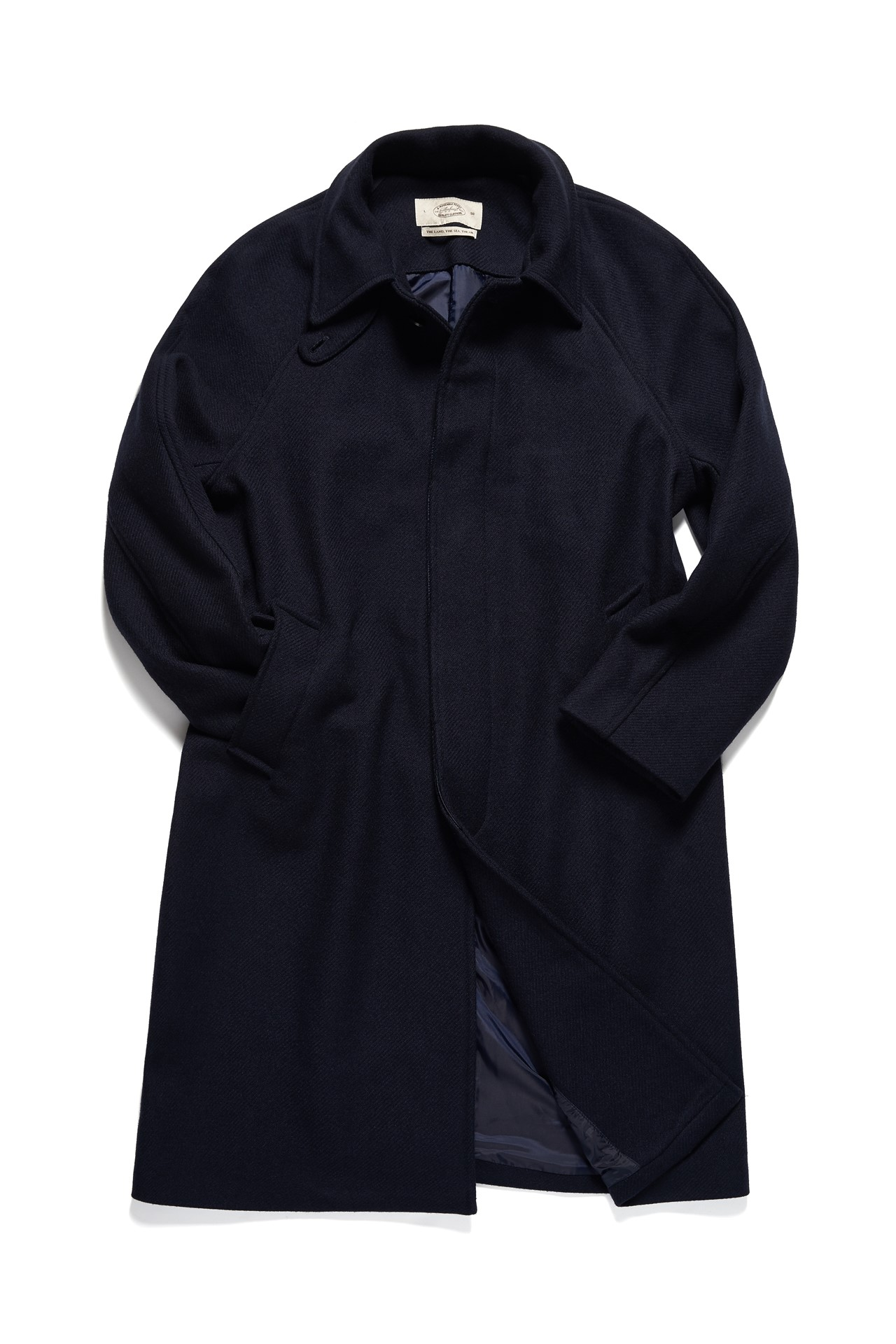 BASIC RAGLAN COAT NAVYAFMEAST(암피스트)