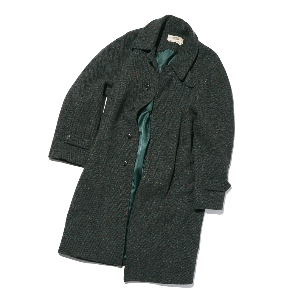 Magee FABRIC BASIC RAGLAN COAT GREENAMFEAST(암피스트)