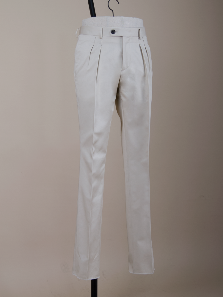 4seasons  rain guard chino pants - ivory Bellvoro(벨보로)