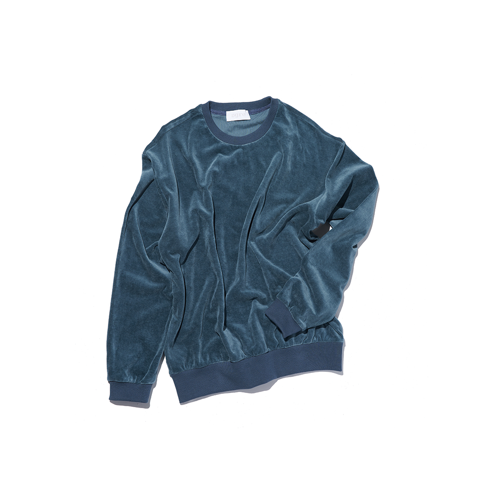 VELOUR SWEAT BLUEDGRE(디그래)