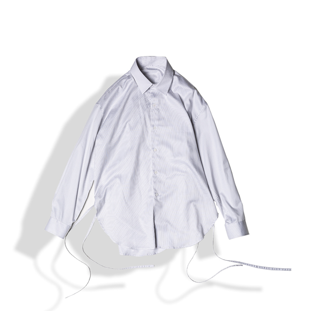STRING GLOSSY COTTON SHIRTS / STRIPEArttitude(아티튜드)
