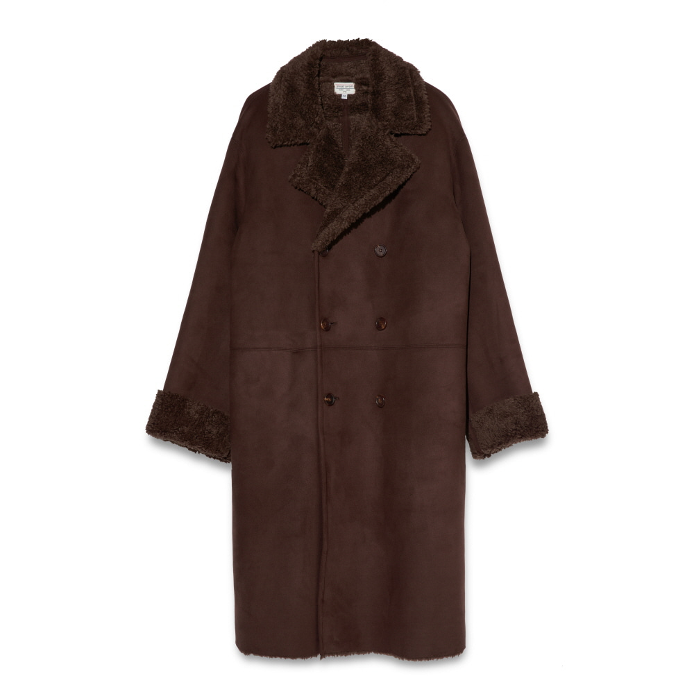Suede coat Choco brown CHADPROM(채드프롬)