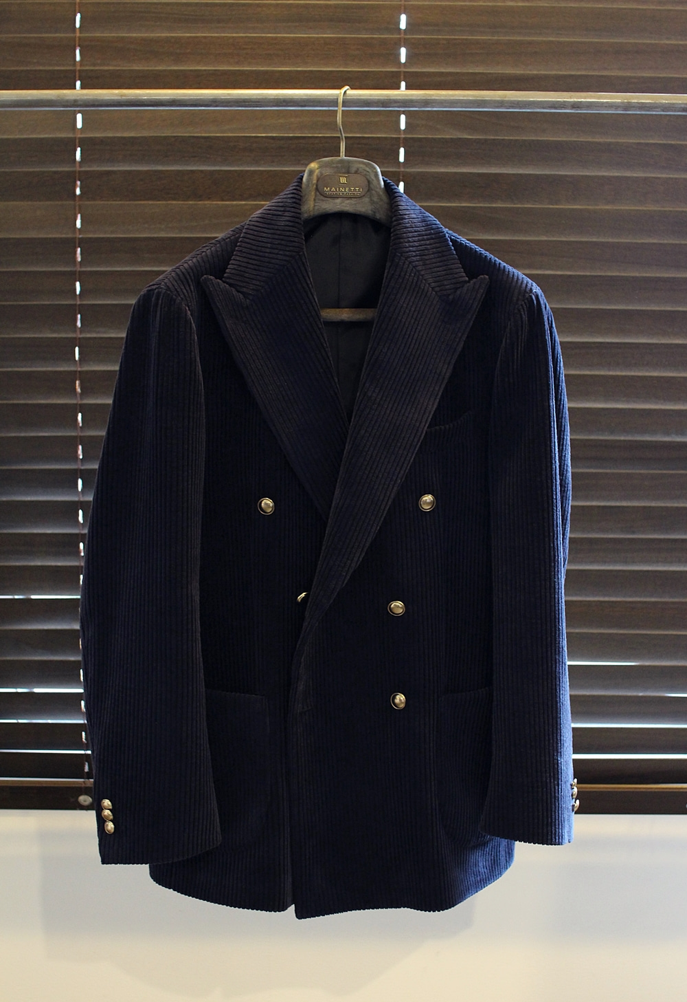 Double corduroy jacket NavyCOMPLETO(꼼플레토)