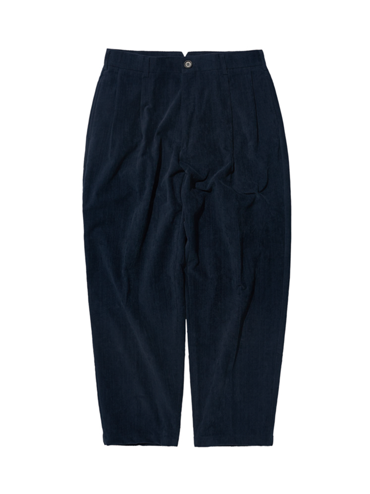 DALSTON CORD WIDE TAPERED PANTS NAVYDgre(디그레)