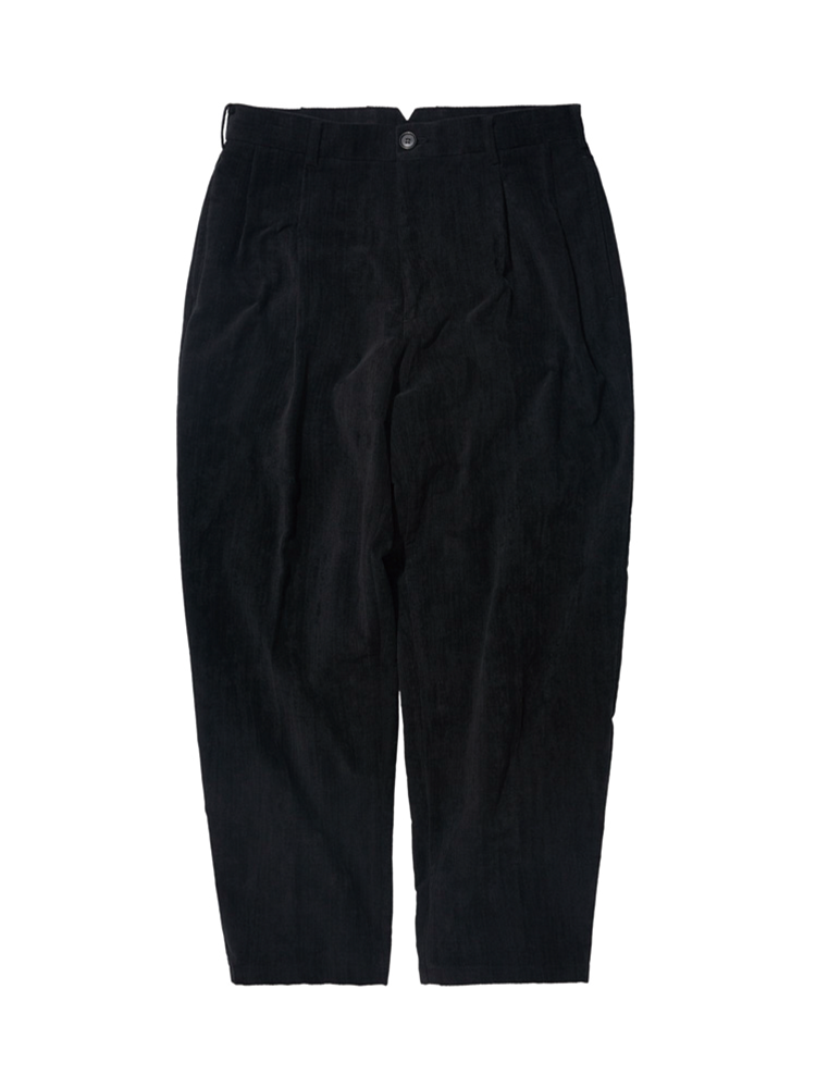 DALSTON CORD WIDE TAPERED PANTS BLACKDgre(디그레)