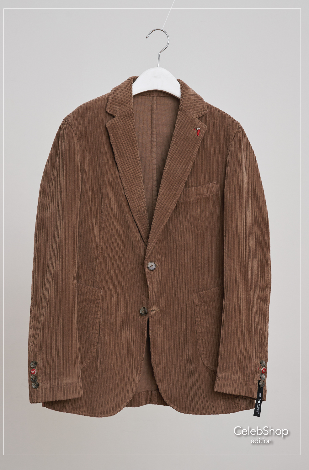 Corduroy single jacket(Camel/Navy)Celebshop Edition(셀렙샵에디션)