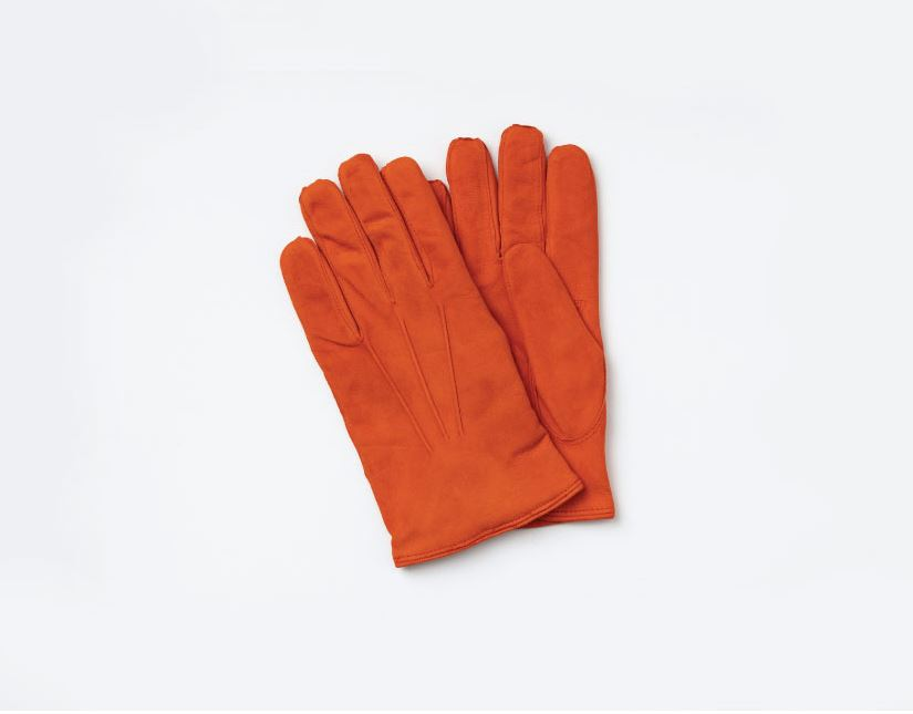 omega gloves Nappa_Man(Hermes Orange Seude)오메가글러브