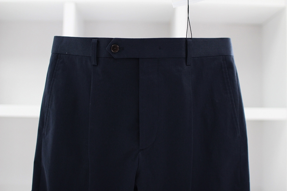 Navy cotton PantsCOMPLETO(꼼플레토)