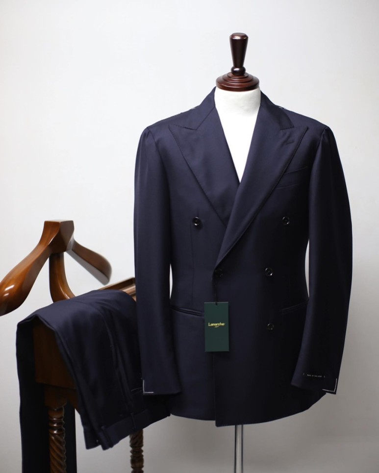 20 S/S Dark navy Double SUITLamarche Napoli라마르쉐 나폴리