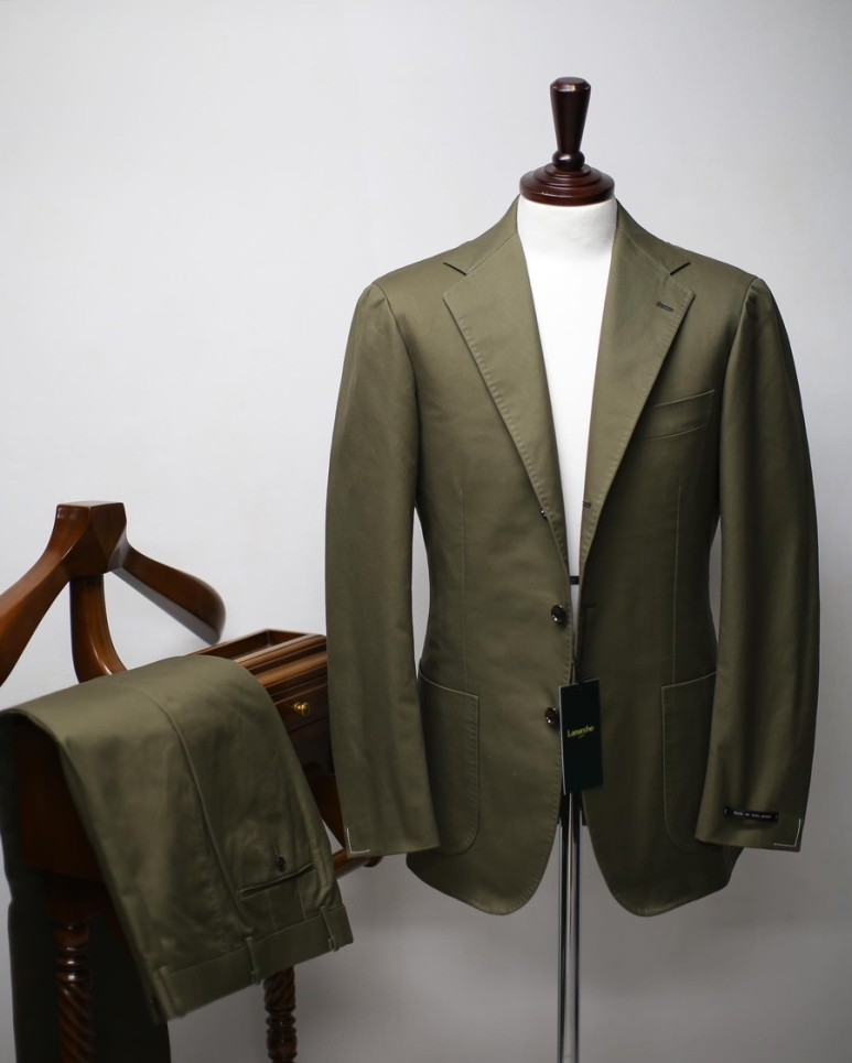 20 S/S Olive SUPIMA COTTON SUITLamarche Napoli라마르쉐 나폴리