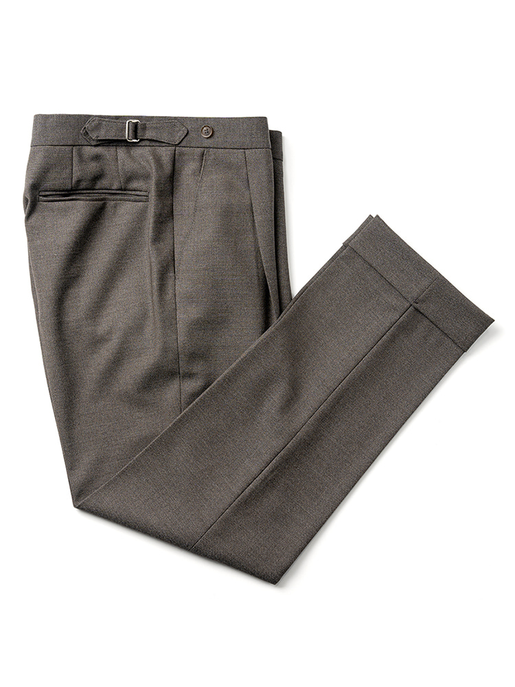 Canonico fresco pants - Dark Beige(4PLY) Estado(에스타도)