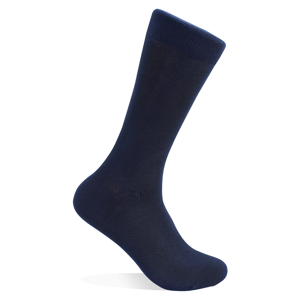 NAVY SUPIMA COTTON SOCKSVictor&Albert(빅터앤알버트)