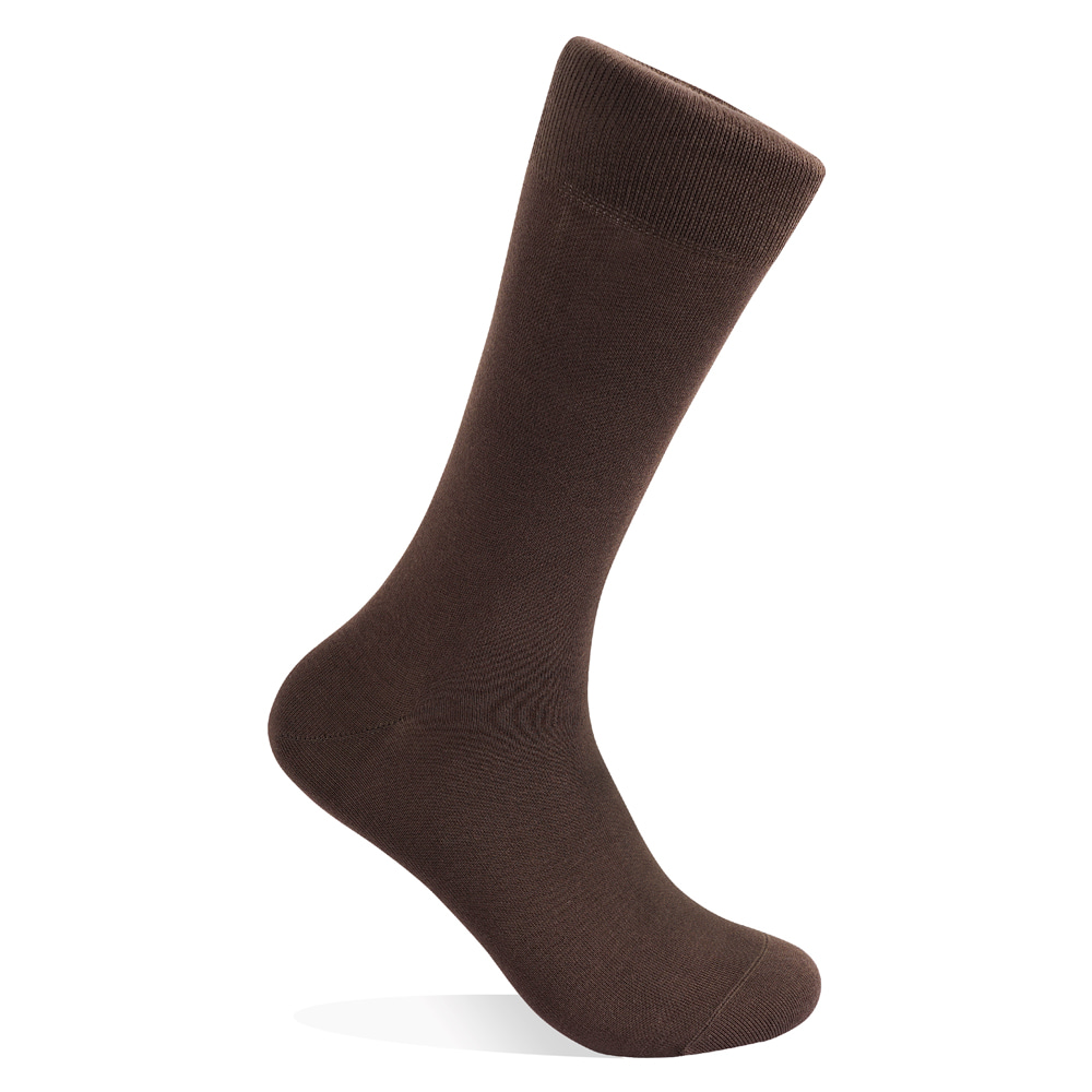 BROWN SUPIMA COTTON SOCKSVictor&Albert(빅터앤알버트)