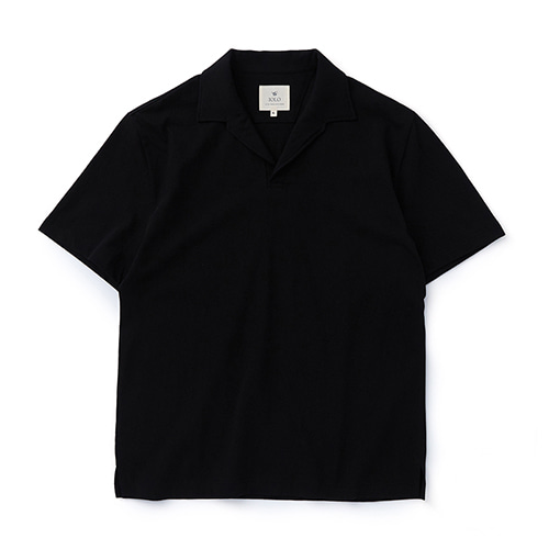 Soft Cotton Opencollar_BlackIOLO(이올로)