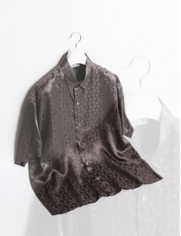 UNFINISHED SILK HALF SHIRTS / GREYATE STUDIOS(에이티이 스튜디오스)