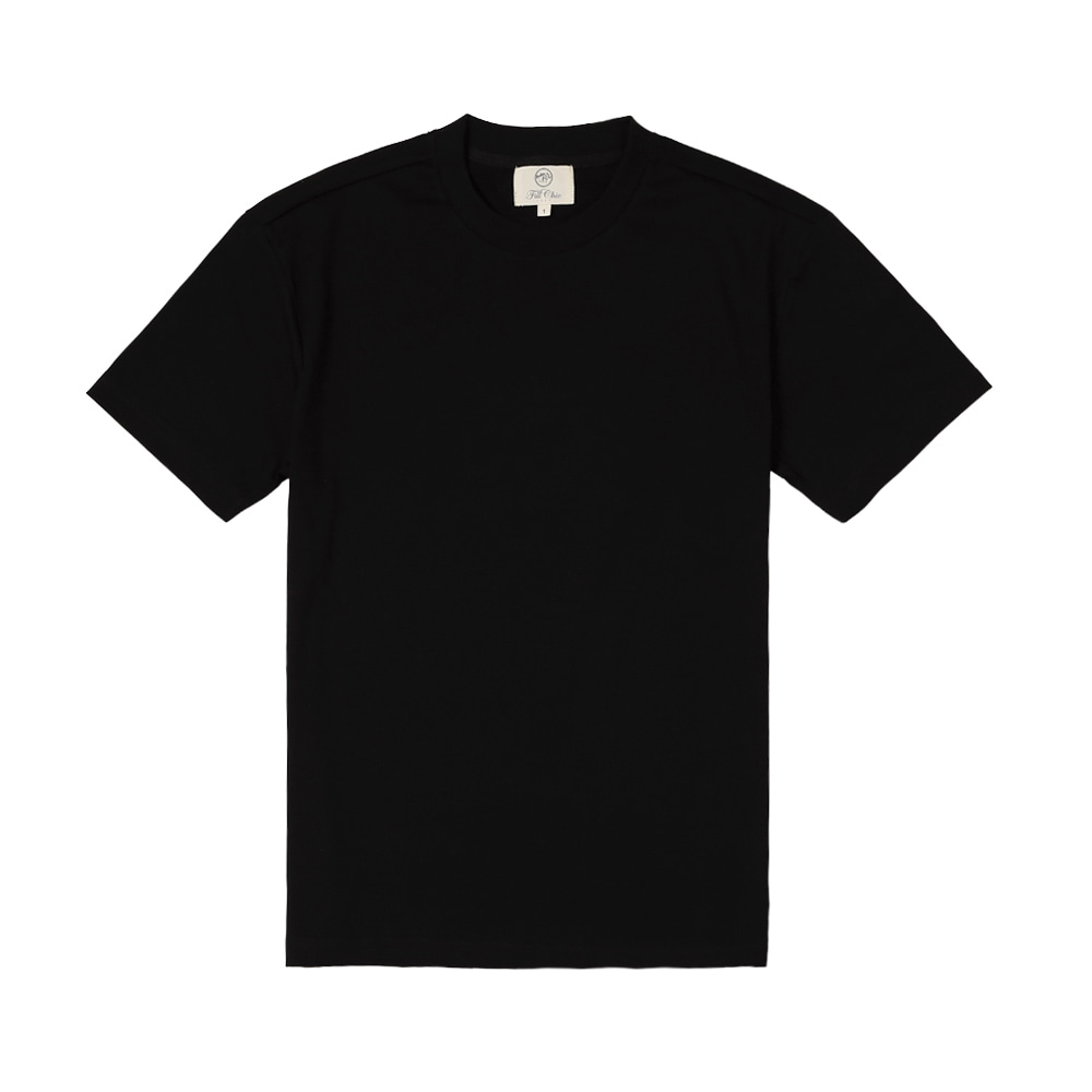 SILKET COTTON T-SHIRT(Black)Fillchic(필시크)